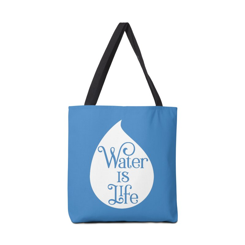 Water Is Life Accessories Bag by elainemichele's Artist Shop