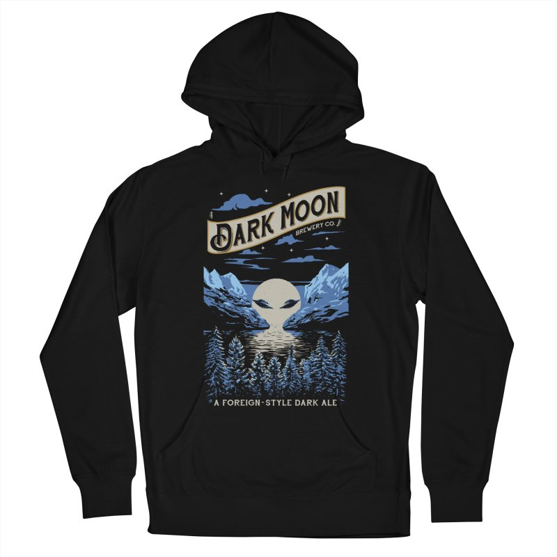 Dark Moon Women's Pullover Hoody by elanharris's Artist Shop