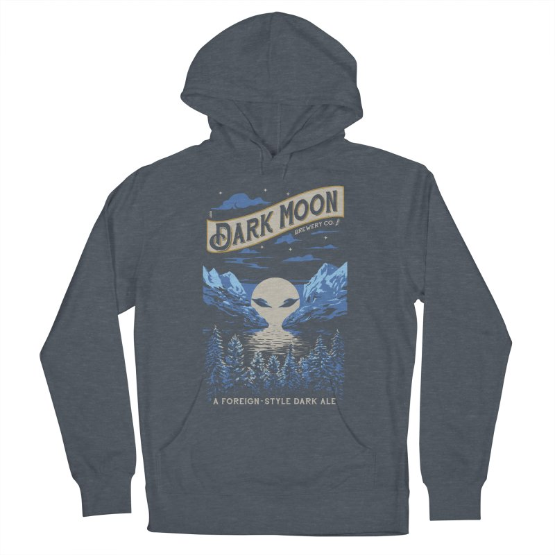 Dark Moon Men's Pullover Hoody by elanharris's Artist Shop