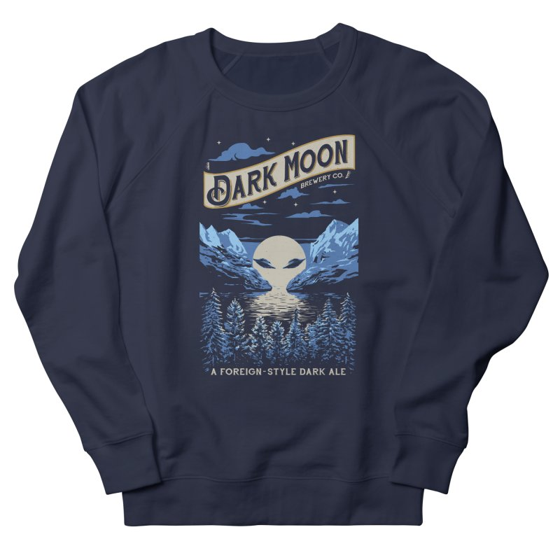 Dark Moon Women's Sweatshirt by elanharris's Artist Shop