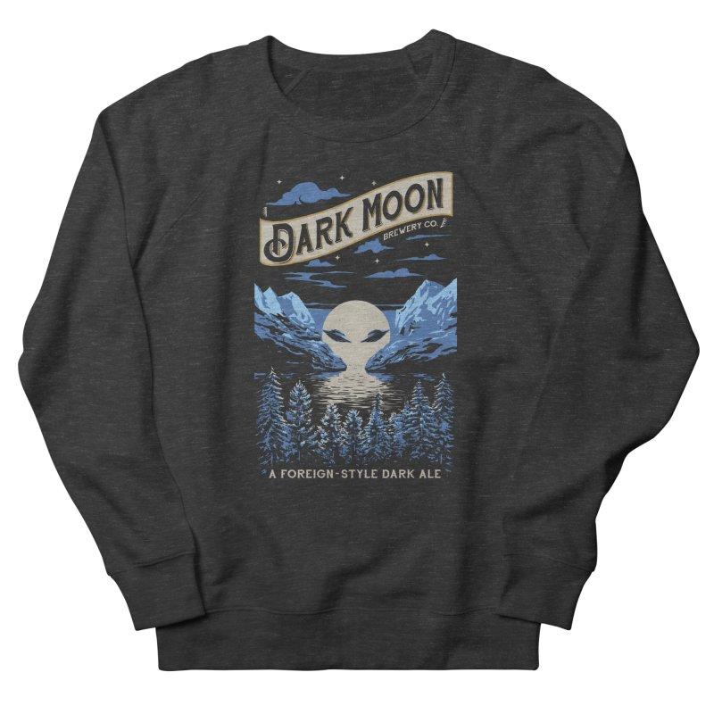 Dark Moon Men's Sweatshirt by elanharris's Artist Shop