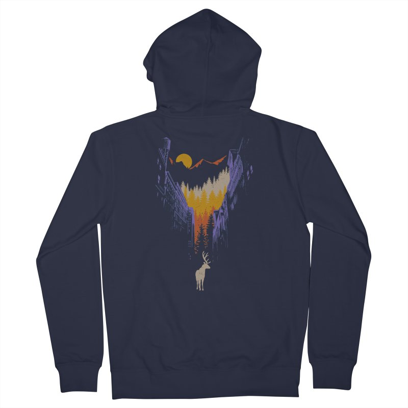 The Wanderer Women's Zip-Up Hoody by elanharris's Artist Shop