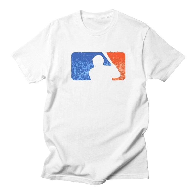 Major League Zombies Men's T-shirt by elanharris's Artist Shop