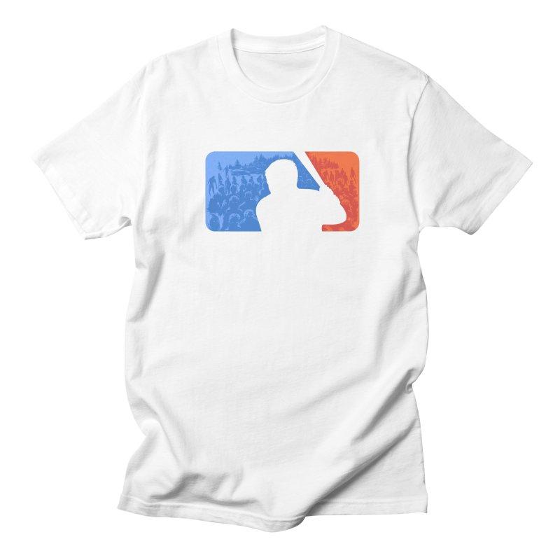 Major League Zombie Men's T-shirt by elanharris's Artist Shop