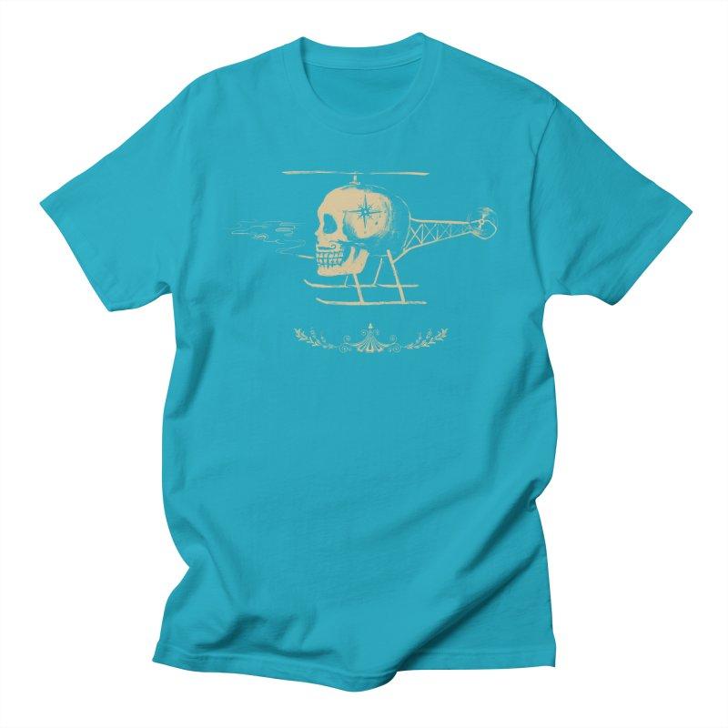 Skullicopter Women's Unisex T-Shirt by elanharris's Artist Shop