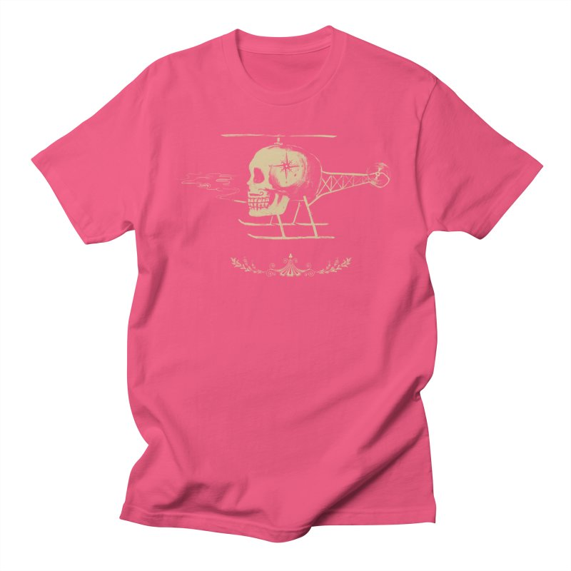 Skullicopter Women's Unisex T-Shirt by elanharris's Artist Shop