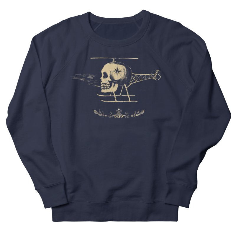 Skullicopter Women's Sweatshirt by elanharris's Artist Shop