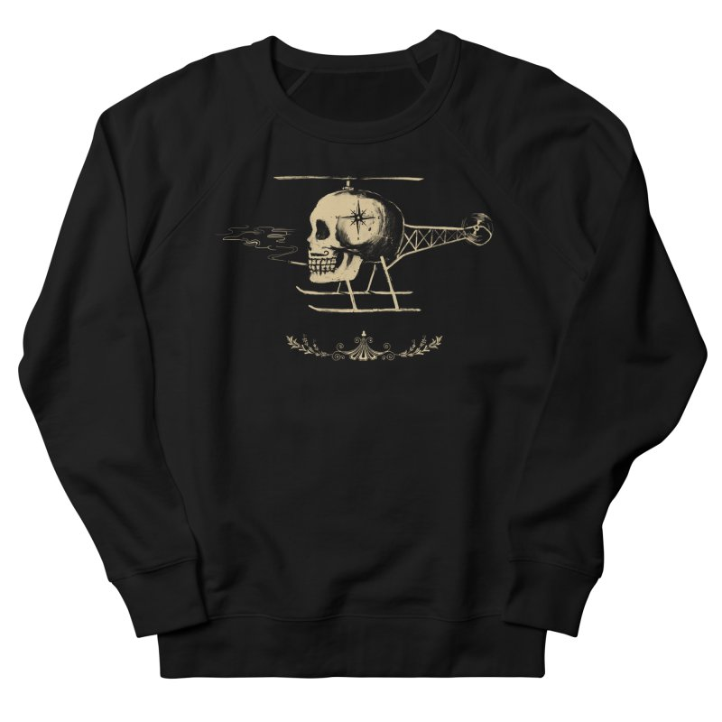 Skullicopter Men's Sweatshirt by elanharris's Artist Shop