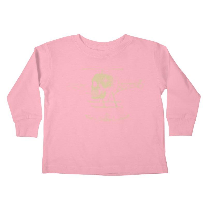 Skullicopter Kids Toddler Longsleeve T-Shirt by elanharris's Artist Shop