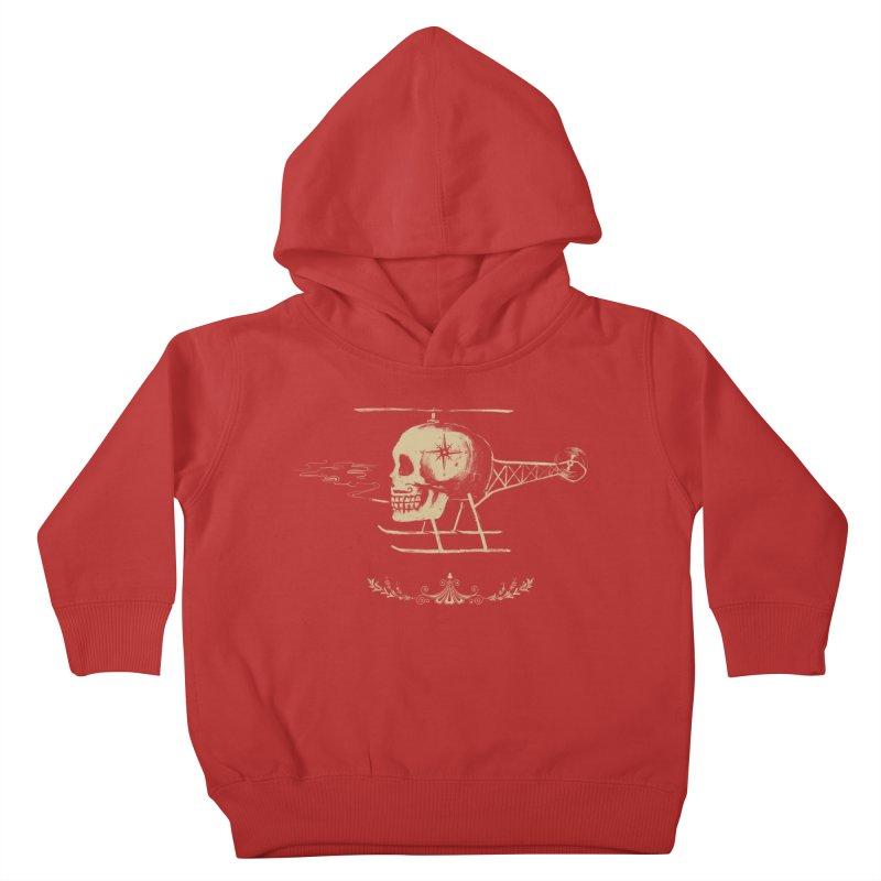 Skullicopter Kids Toddler Pullover Hoody by elanharris's Artist Shop