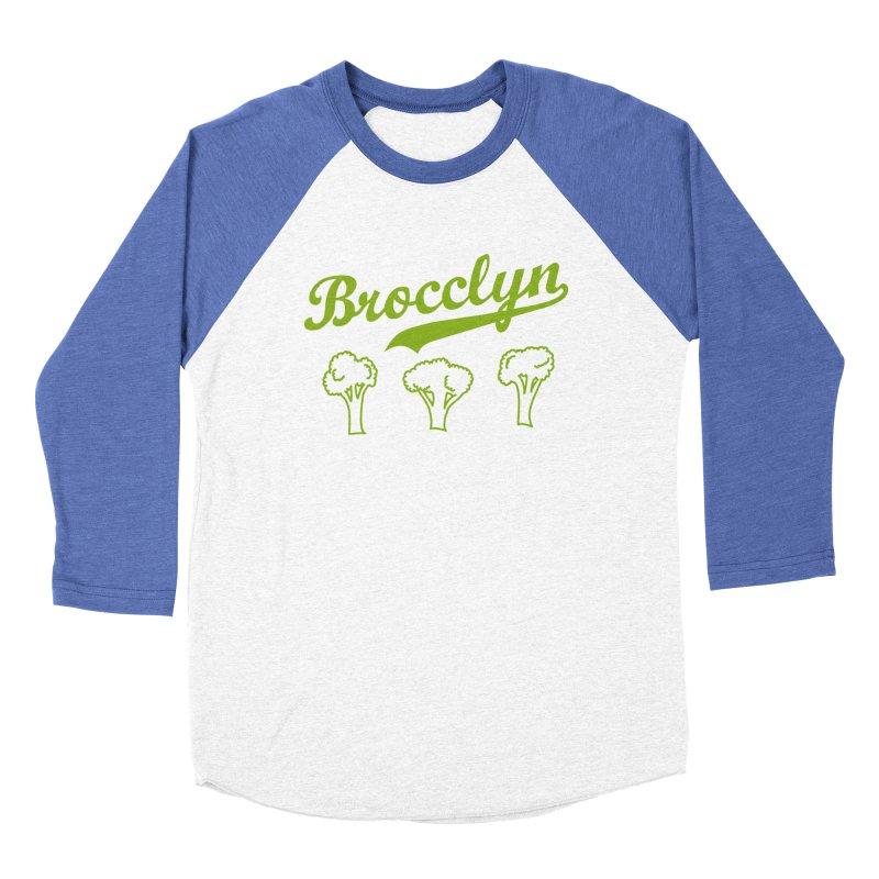 BROCCLYN Men's Baseball Triblend T-Shirt by elanharris's Artist Shop