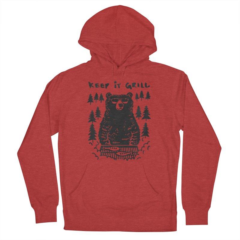 keep It Grill Men's Pullover Hoody by elanharris's Artist Shop
