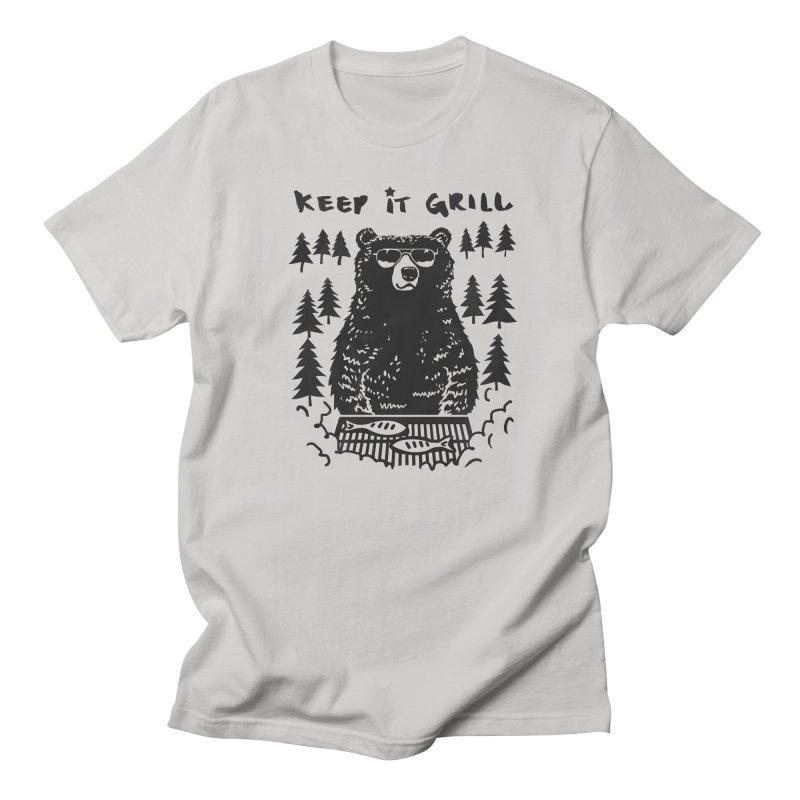 keep It Grill Men's T-shirt by elanharris's Artist Shop