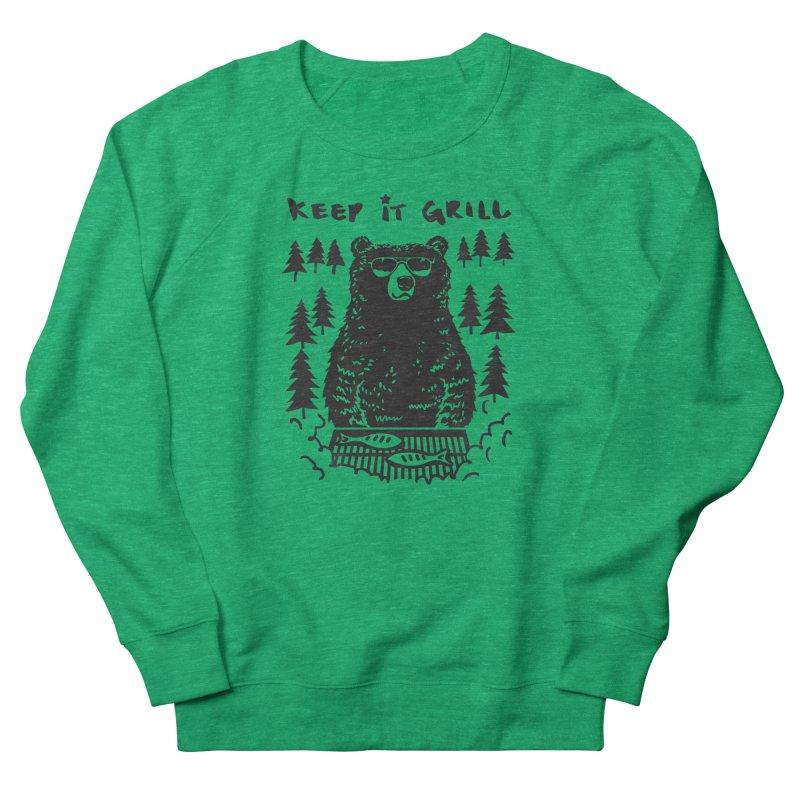 keep It Grill Men's Sweatshirt by elanharris's Artist Shop