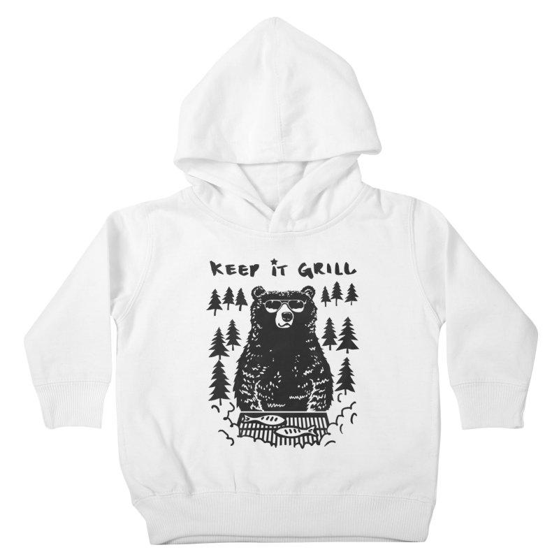 keep It Grill Kids Toddler Pullover Hoody by elanharris's Artist Shop