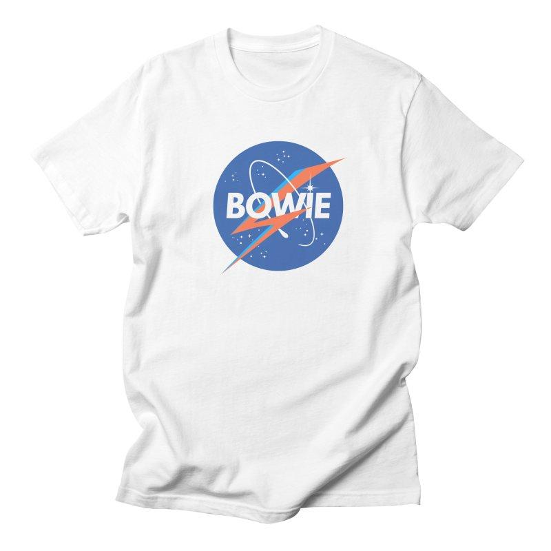 Bowie Men's T-Shirt by elanharris's Artist Shop