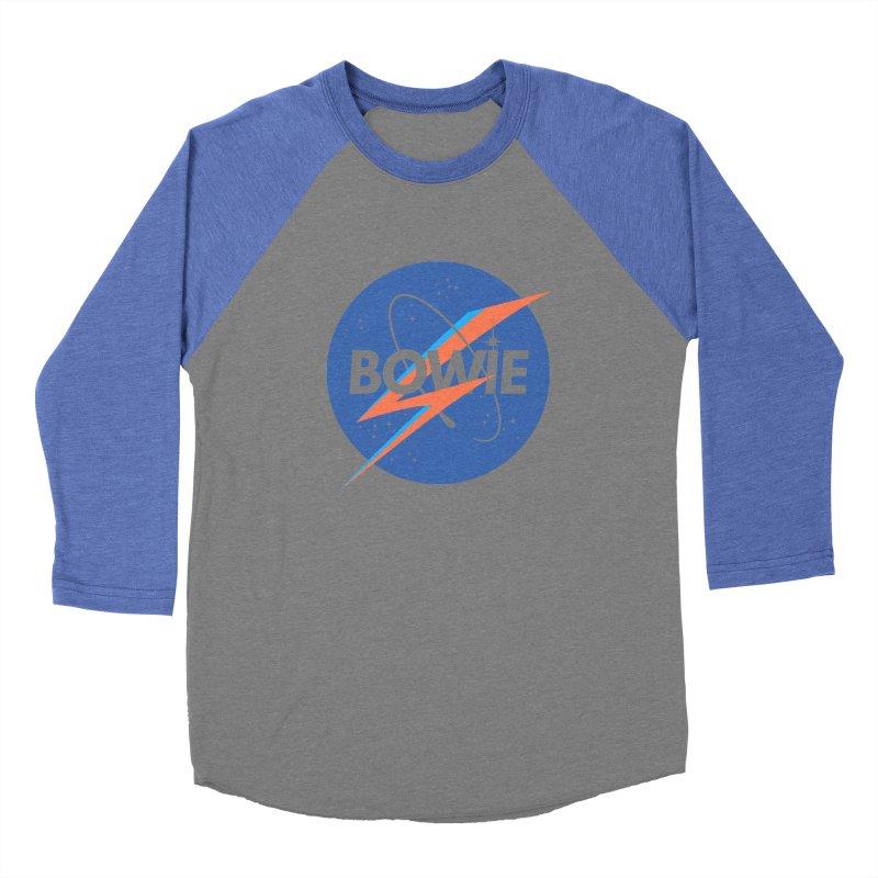 Bowie Women's Baseball Triblend T-Shirt by elanharris's Artist Shop