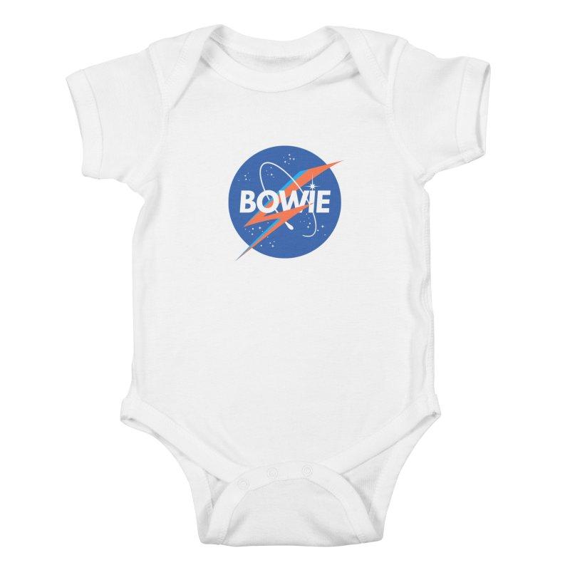 Bowie Kids Baby Bodysuit by elanharris's Artist Shop