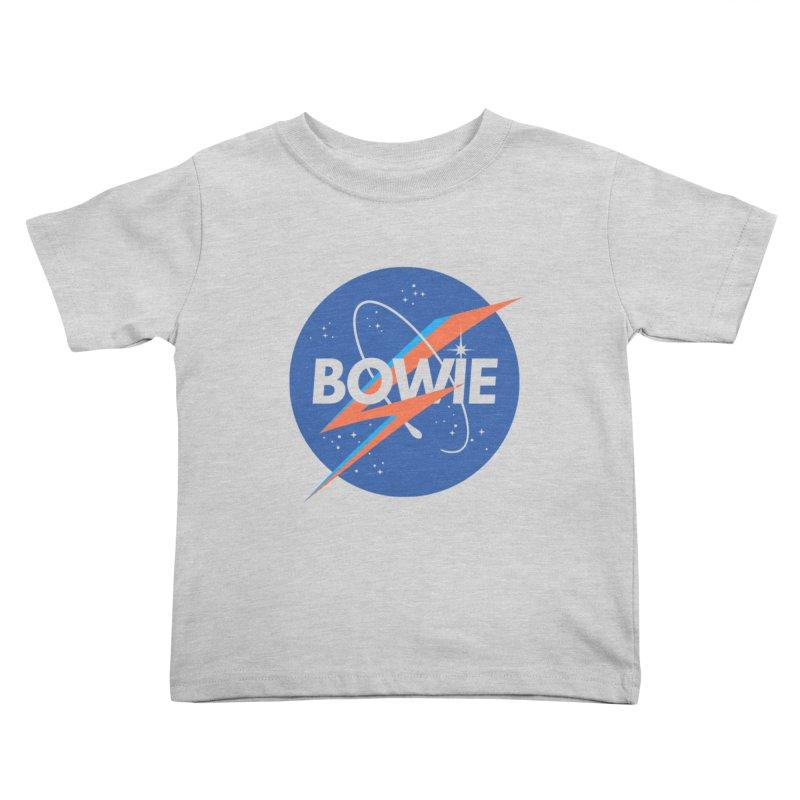 Bowie Kids Toddler T-Shirt by elanharris's Artist Shop