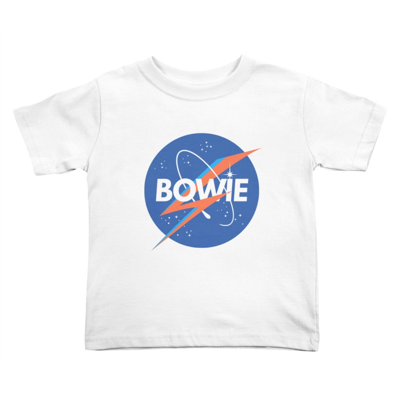 Bowie Kids Toddler T-Shirt by elanharris's Artist Shop