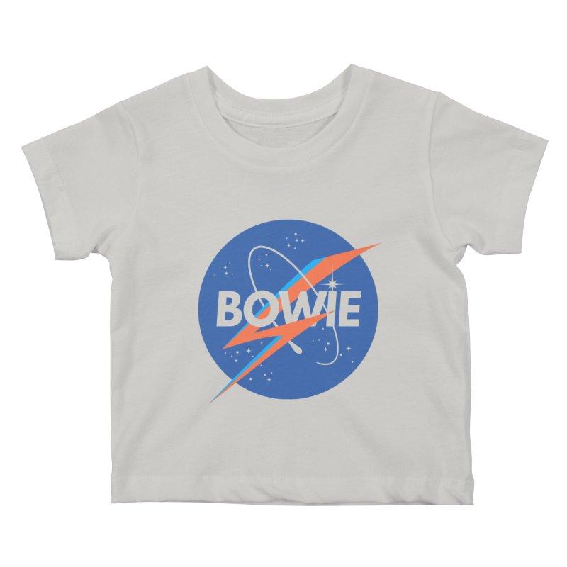 Bowie Kids Baby T-Shirt by elanharris's Artist Shop