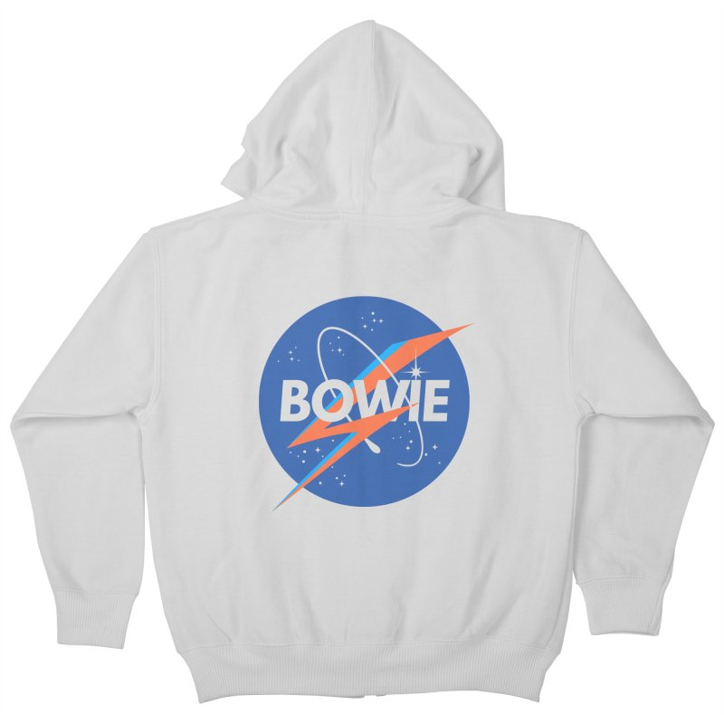 Bowie Kids Zip-Up Hoody by elanharris's Artist Shop