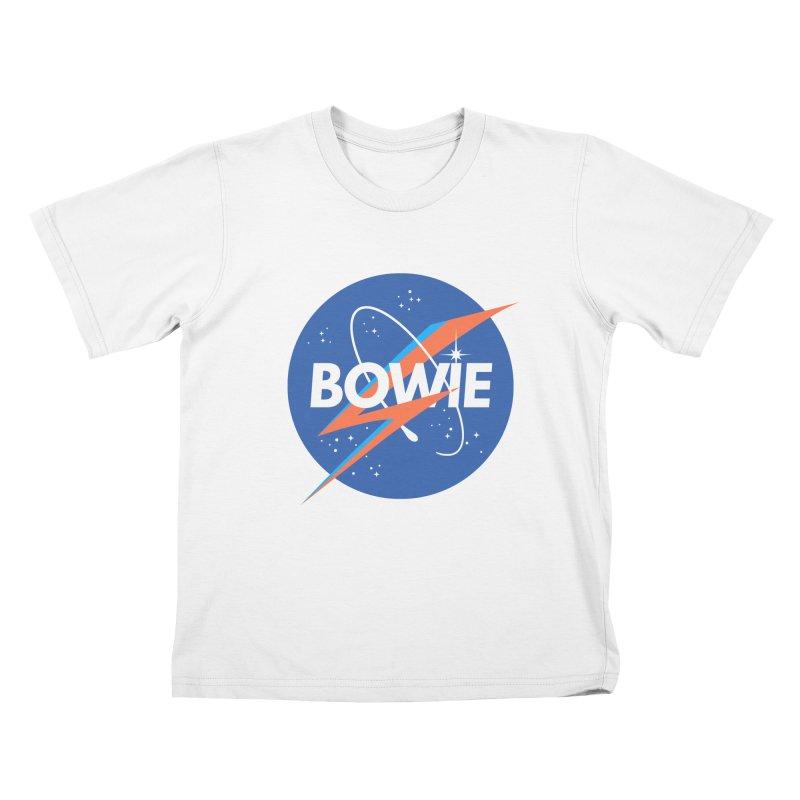 Bowie Kids T-shirt by elanharris's Artist Shop