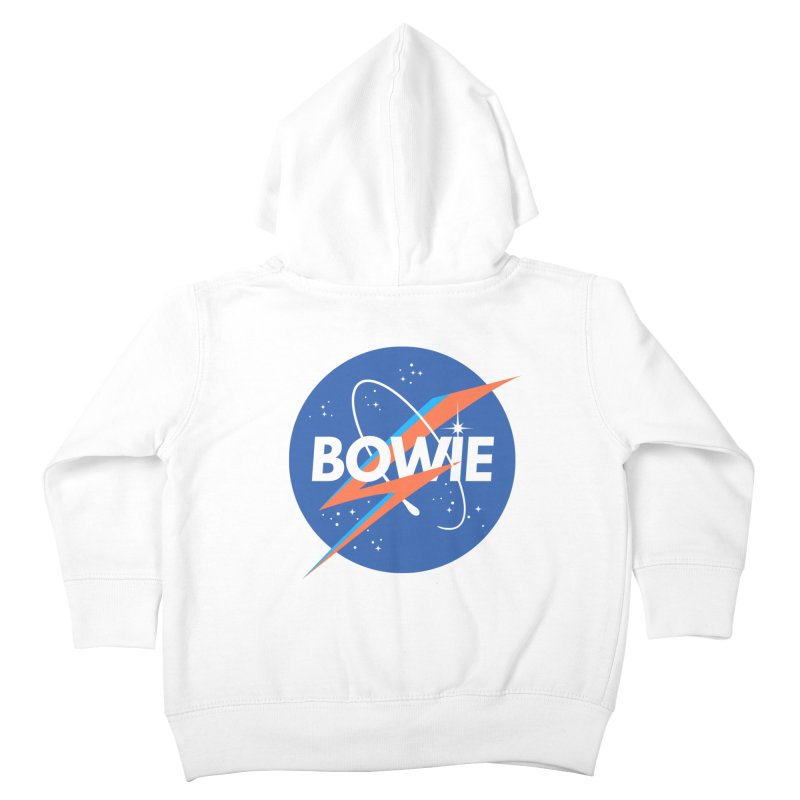 Bowie Kids Toddler Zip-Up Hoody by elanharris's Artist Shop