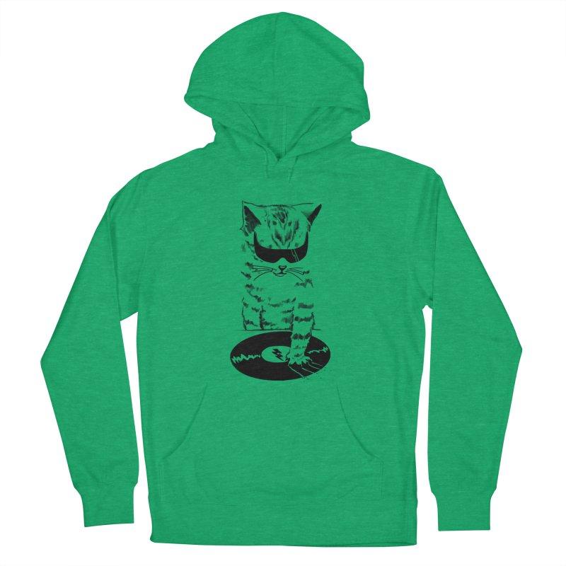 DJ Scratch Women's Pullover Hoody by elanharris's Artist Shop