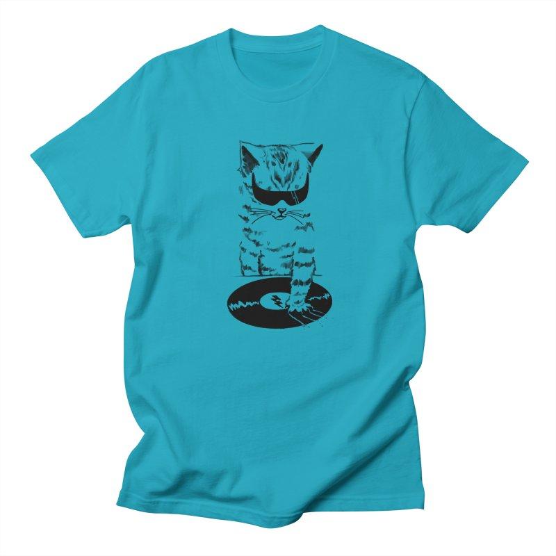 DJ Scratch Men's T-shirt by elanharris's Artist Shop