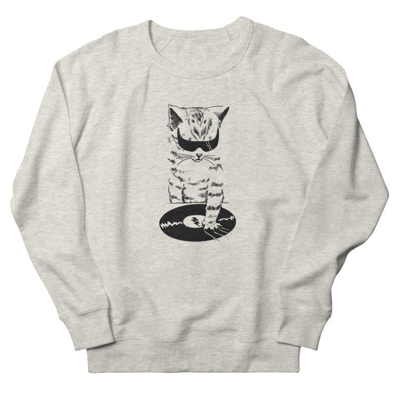 DJ Scratch Women's Sweatshirt by elanharris's Artist Shop