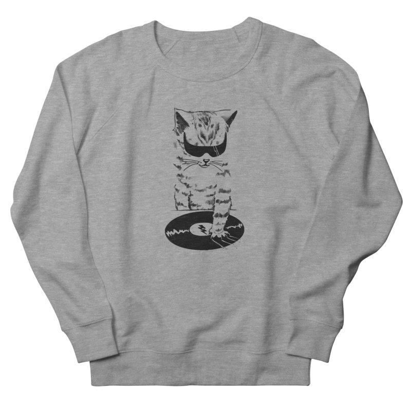 DJ Scratch Men's Sweatshirt by elanharris's Artist Shop