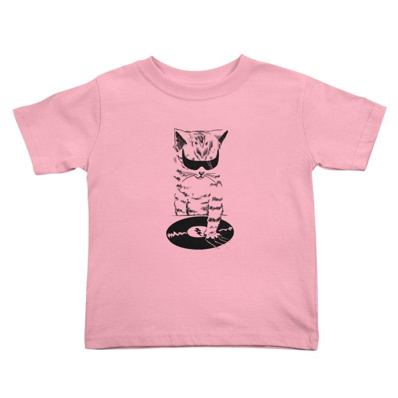 DJ Scratch Kids Toddler T-Shirt by elanharris's Artist Shop