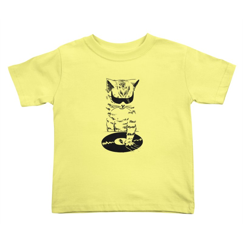 DJ Scratch Kids Toddler T-Shirt by elanharris's Artist Shop
