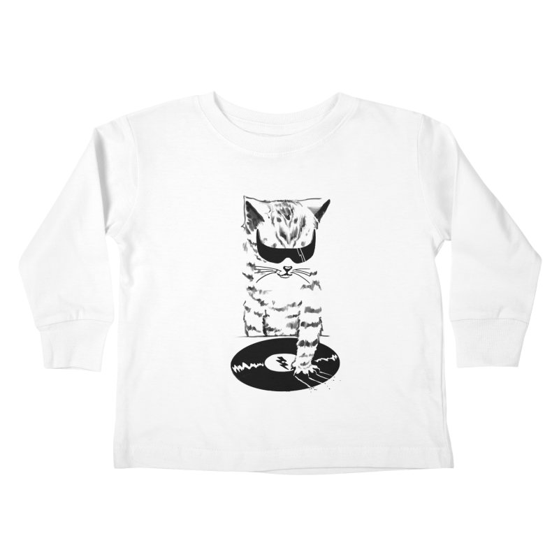 DJ Scratch Kids Toddler Longsleeve T-Shirt by elanharris's Artist Shop
