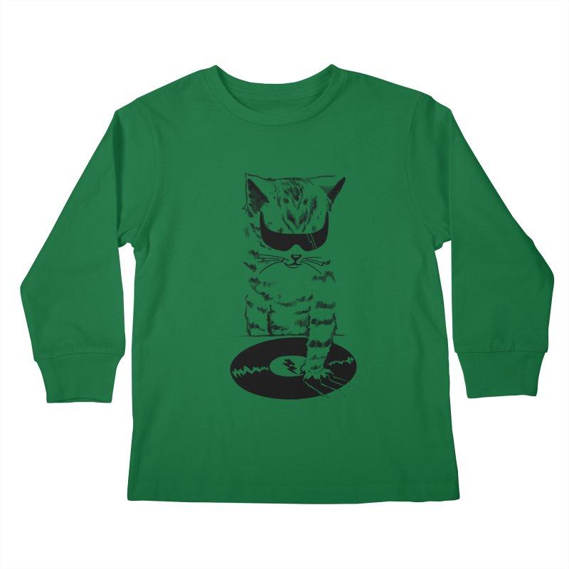 DJ Scratch Kids Longsleeve T-Shirt by elanharris's Artist Shop