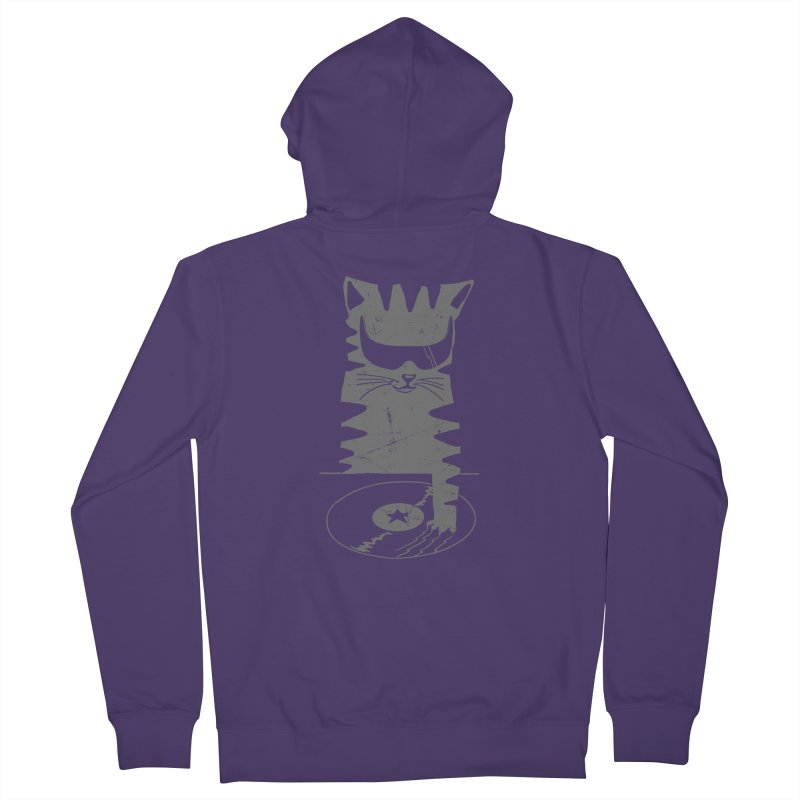 DJ Scratch (the remix) Women's Zip-Up Hoody by elanharris's Artist Shop