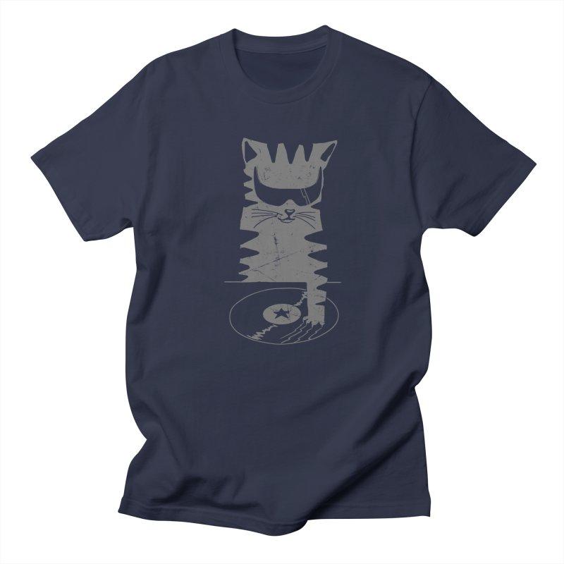 DJ Scratch (the remix) Men's T-shirt by elanharris's Artist Shop
