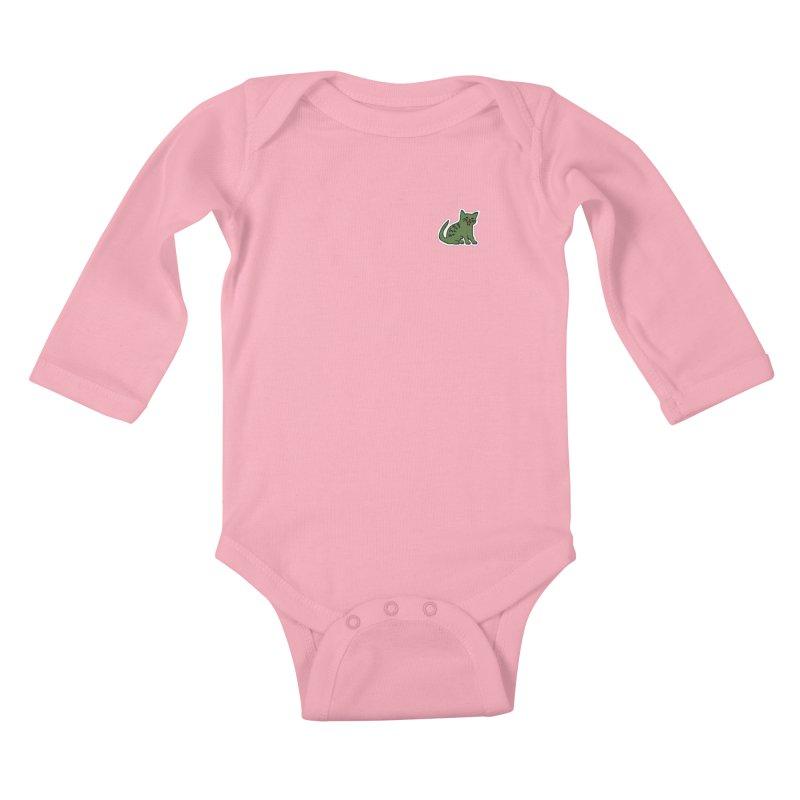 LACAT Kids Baby Longsleeve Bodysuit by elanharris's Artist Shop