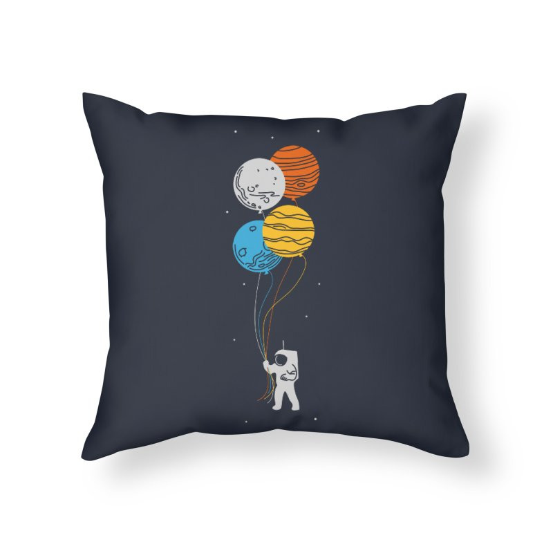 Space Oddity Home Throw Pillow by elanharris's Artist Shop
