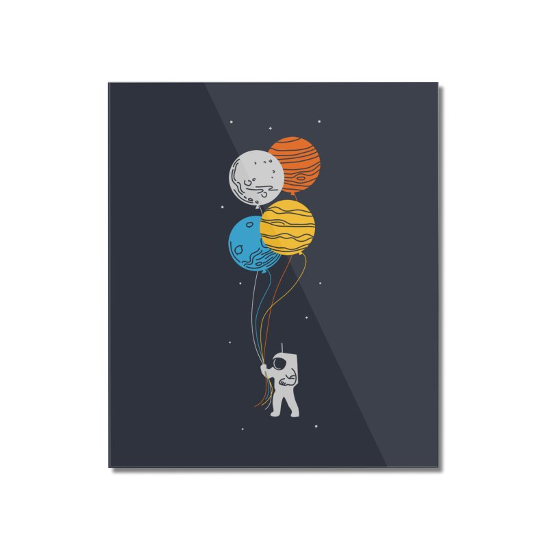 Space Oddity Home Mounted Acrylic Print by elanharris's Artist Shop