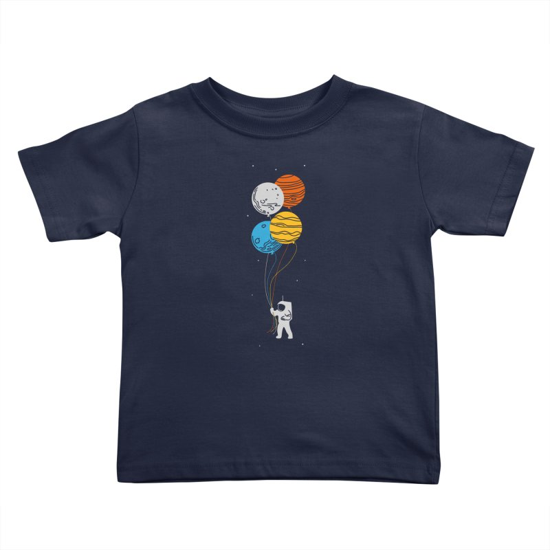 Space Oddity Kids Toddler T-Shirt by elanharris's Artist Shop