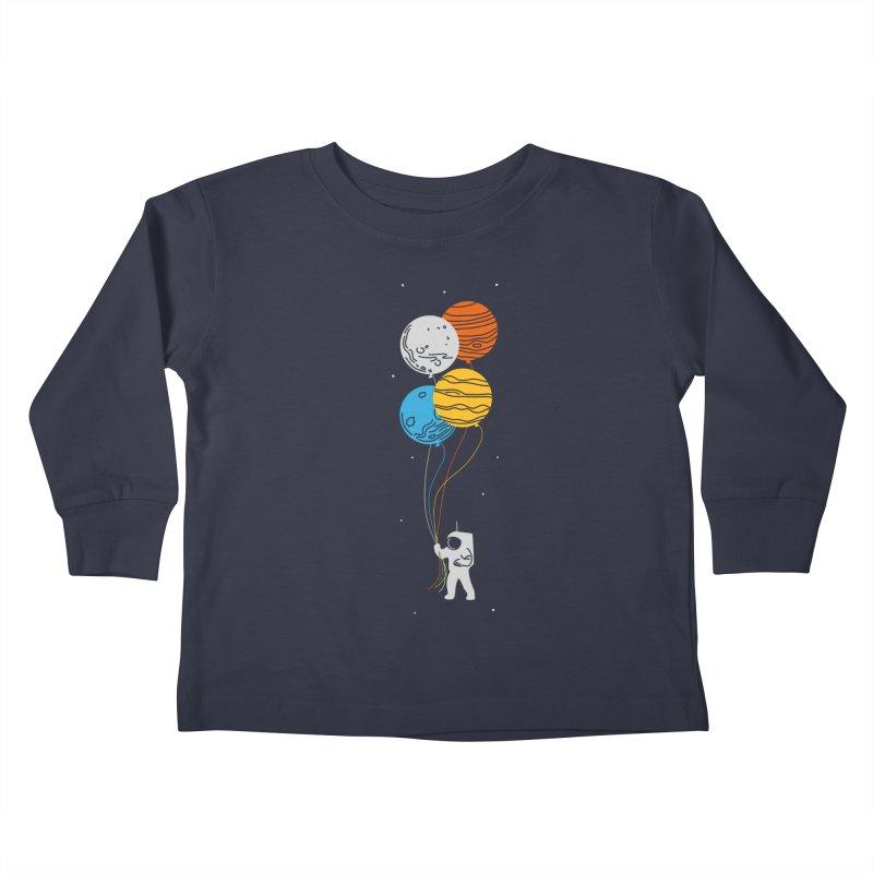 Space Oddity Kids Toddler Longsleeve T-Shirt by elanharris's Artist Shop