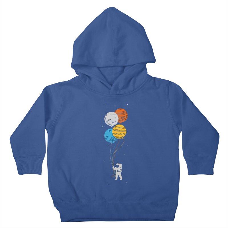 Space Oddity Kids Toddler Pullover Hoody by elanharris's Artist Shop