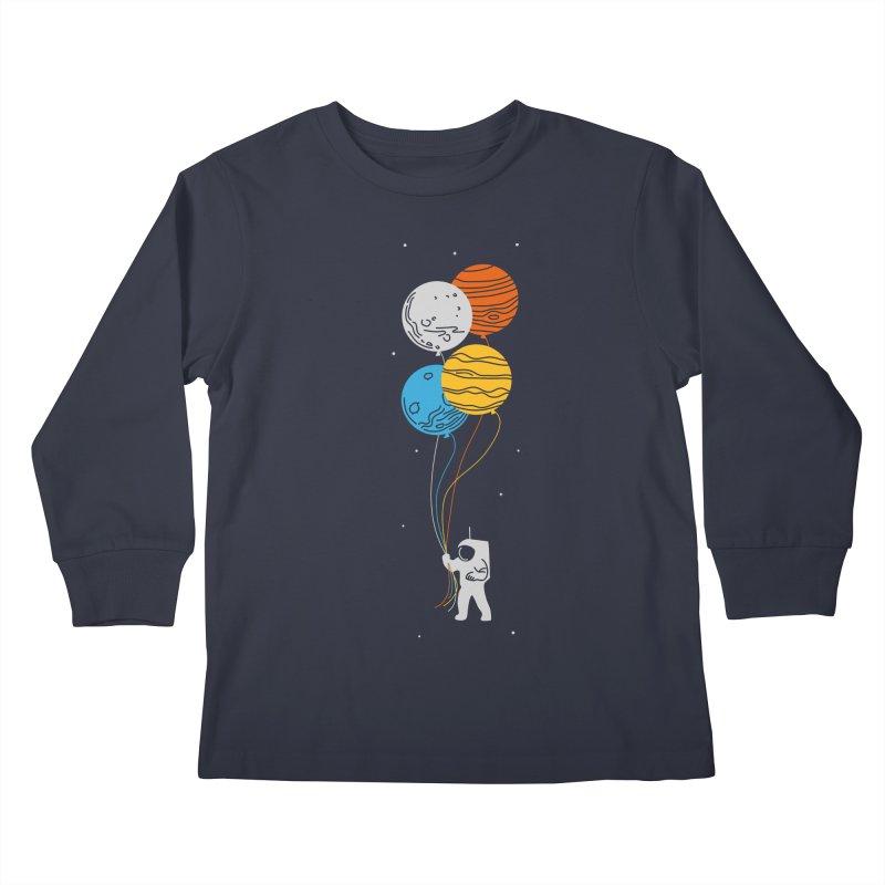 Space Oddity Kids Longsleeve T-Shirt by elanharris's Artist Shop
