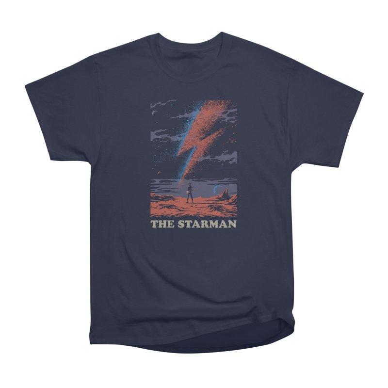 the Starman Men's Heavyweight T-Shirt by elanharris's Artist Shop