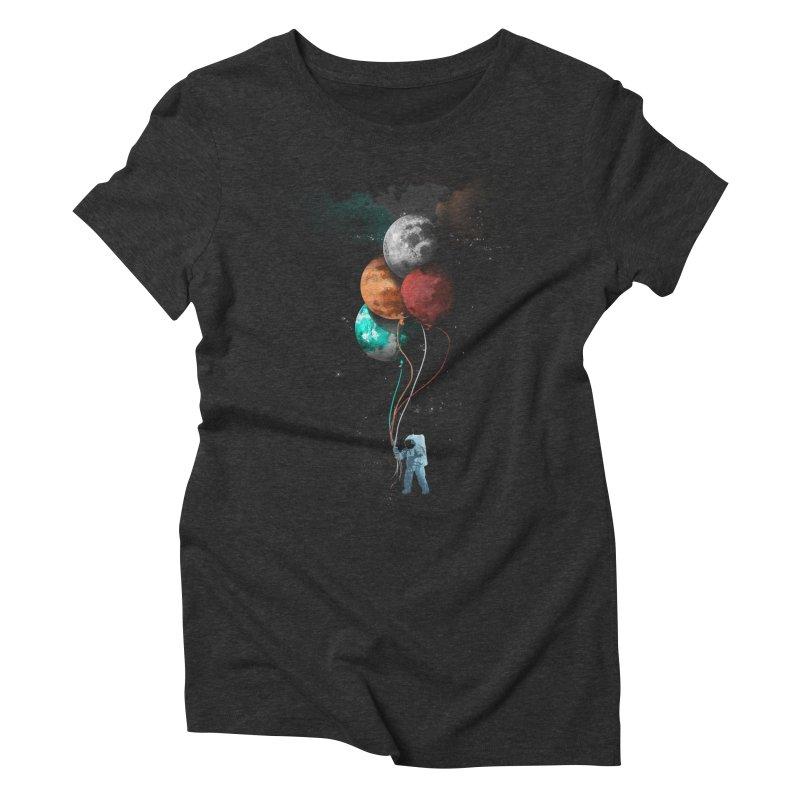 Major Tom's trip Women's Triblend T-shirt by elanharris's Artist Shop