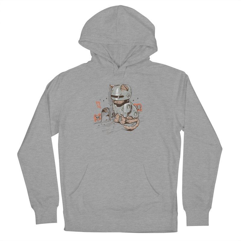 Robocat Men's Pullover Hoody by elanharris's Artist Shop