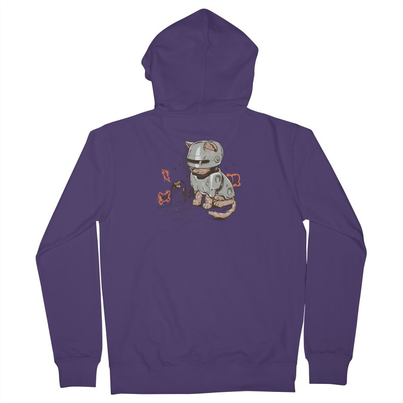 Robocat Women's Zip-Up Hoody by elanharris's Artist Shop