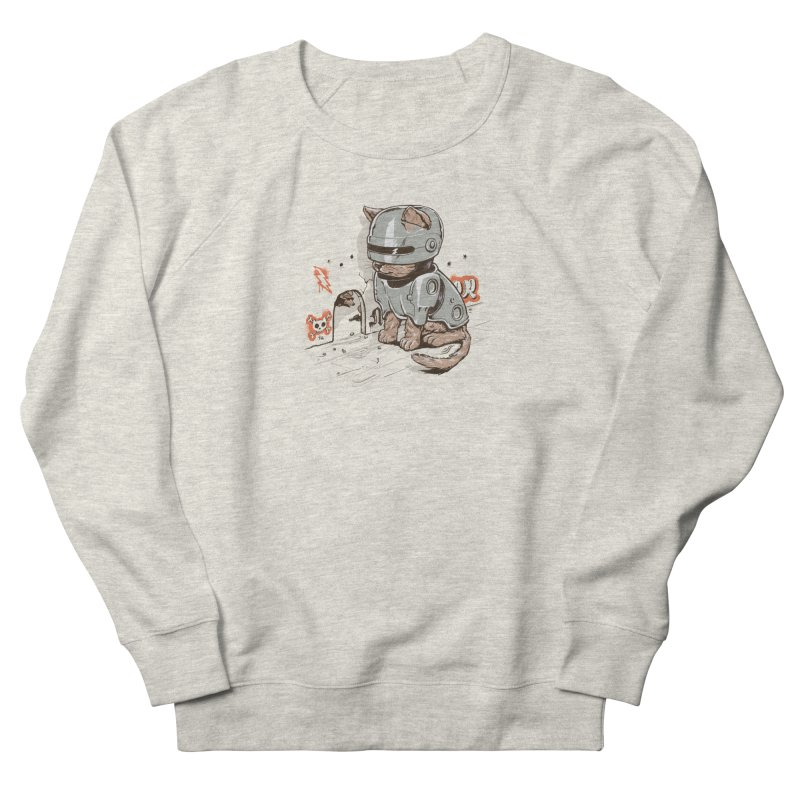 Robocat Men's Sweatshirt by elanharris's Artist Shop